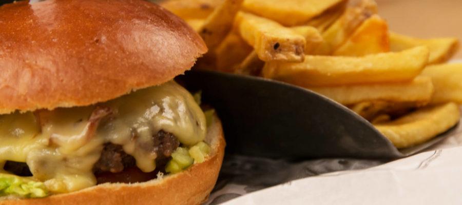 wagyu hamburger van Stadscafé Oscar